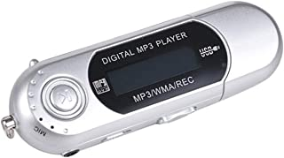 $24 » MP3 8GB Built-in Memory MP3 with Display Screen,USB in-line Dry Battery with Screen,Portable Digital Lossless Music Player...