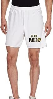 Kim Men's Unisex Shorts Household Pants For Men's White