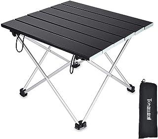 アウトドアテーブル Toyaword キャンプ テーブル 折畳テーブルアルミ製 耐荷重30kg 折りたたみ式 キャンプ用 アウトドア&室内 軽量 コンパクト 携帯便利 収納袋付き 一年間保証