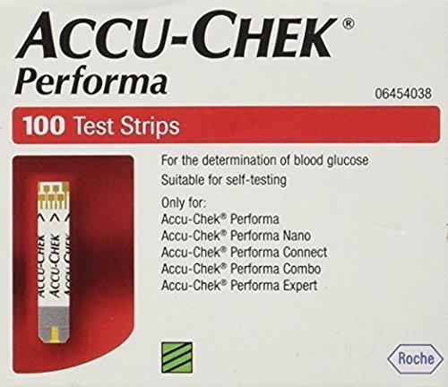 Accu Chek Performa Glucometer 100 Strips (Pack of 5)