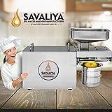 Savaliya Industries SI-702 (घरबैठे खाद्यतेल बनाने का मशीन) Stainless Steel Edible Oil Maker
