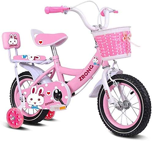 Best Price LYYJIAJU Kid's Bike Steel Frame Children Bicycle Little Princess Style 12-14-16-18 Inch w...