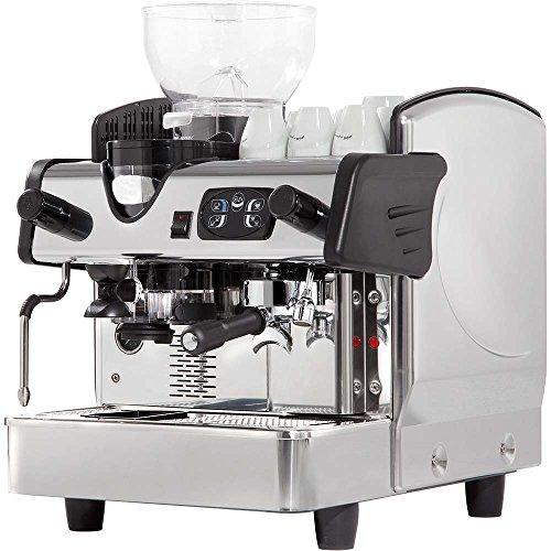 Indrukwekkende zeefmachine met koffiemolen, koffiezetapparaat, 460 x 590 x 630 mm, 6 liter, 2,8 kW 230 V boiler van koper elektronische besturing