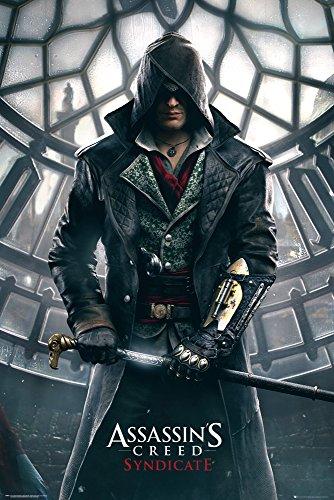 GB Eye Poster, 61 x 91,5 cm, Motiv Assassins Creed - Syndicate Big Ben Maxi-Poster, bunt
