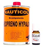 Nauticol Pegamento para reparación de neumáticas de Neopreno/Hypalon (500 ml)