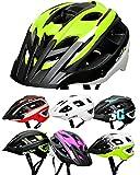 SkullCap Casco Bicicleta Carretera, Casco Bici Adulto, Casco Bici montaña MTB, Hombre, Mujer, Unisex, tamaño L (59-61...