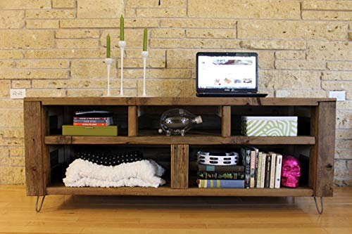 Reclaimed Wood Media Console -'The Habermehl' - Made to Order