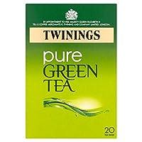 1パックトワイニング純粋な緑茶20 (x 4) - Twinings Pure Green Tea 20 per pack (Pack of 4) [並行輸入品]