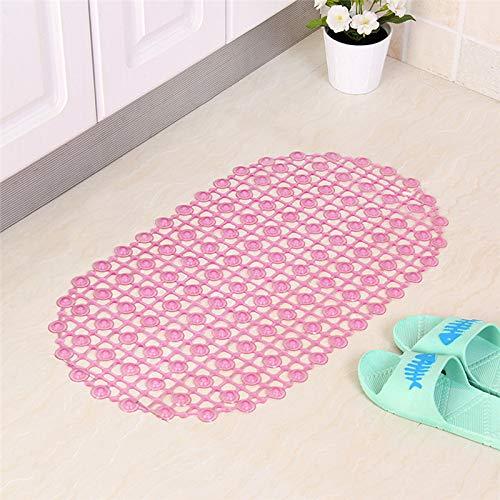 67 * 37Cm rutschfeste Badezimmermatte Mit Saugbaddusche Sichere Matte Bodenmatte Badewannenmatte Fußmassage Teppichfarbe in Reiner Farbe
