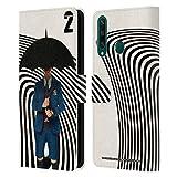 Head Case Designs Licenciado Oficialmente The Umbrella Academy Number Five Season 2 Characters Carcasa de Cuero Tipo Libro Compatible con Huawei Y6p