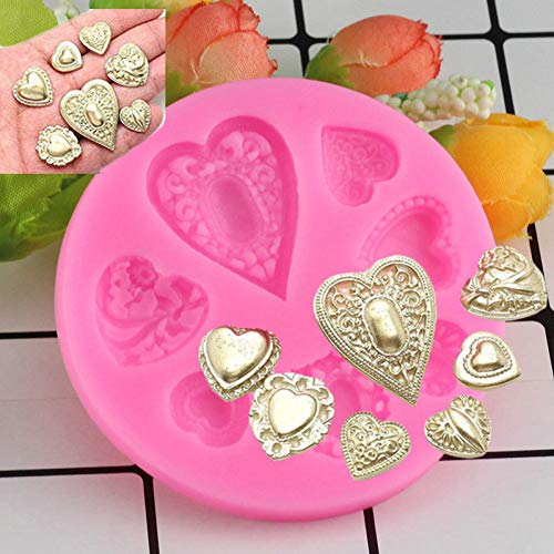 TAOZIAA 3D Gem Shape Silicone Molds Handmade Chocolate Candy Mold Fondant Cake Decoration Sugar Craft Tools Kitchen Baking Tool