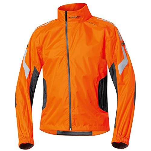 Held Wet Tour - Regenjacke, Farbe schwarz-orange, Größe XL