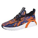 OPAKY Zapatillas Hombres Deporte Running Sneakers Zapatos para Correr Zapatillas Deporte Calzado Cómodo de los Hombres, Transpirable, Zapatos para Correr, Zapatillas de Deporte
