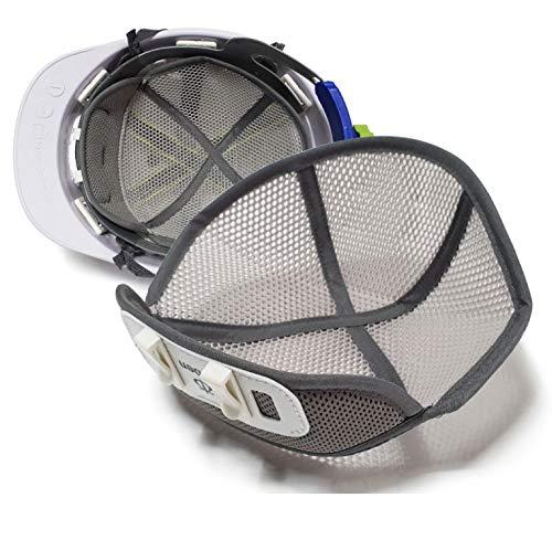 [3個/5個] ヘルメット 安全帽子 汗取り インナー 内皮 アクセサリー 帽子汗吸収 安全保護用品 ヘルメット 汗取り 取付用 インナー 熱中症対策 防止 グッズ 頭保護 キャップ 汗水吸 帽子に 汗を止める 四季節用 通気 速乾 ライナー 作業用冷却メッシュ (3)