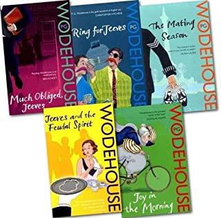 Jeeves and Wooster Novel Collection Pack (ring for Jeeves, the Mating Season, Much Obliged, Jeeves, Joy in the Morning, Je...