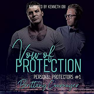 Vow of Protection     Personal Protectors, Book 1              By:                                                                                                                                 Brittany Cournoyer                               Narrated by:                                                                                                                                 Kenneth Obi                      Length: 8 hrs and 6 mins     9 ratings     Overall 4.6