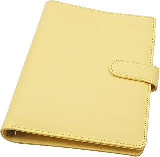 Carpeta De Cuaderno Recargable - ZSWQ 6 Anillas Recargable, Para Cuaderno De Relleno, Tamaño A5 Recargable Para Cuaderno D...