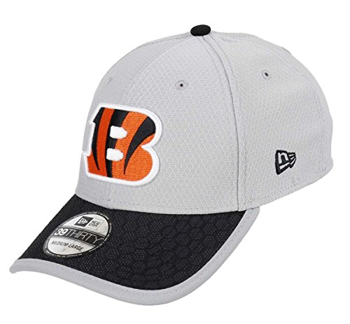 New Era Cincinnati Bengals 39thirty Cap NFL Sideline 2017 Gray - S-M