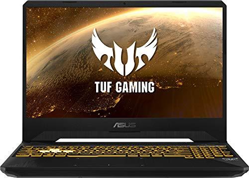 "ASUS TUF Gaming FX505DT-BQ180 - Portátil Gaming de 15"" (Ryzen 5 3550H, 8 GB RAM, 256GB SSD, GeForce GTX1650, sin Sistema operativo) Negro - Teclado QWERTY Español"
