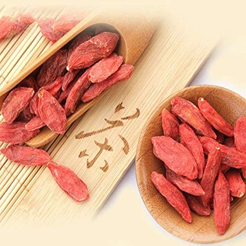 Natural Goji Berry Tea 100g (0.22LB) Wolfberry Goji Bayas té de hierbas té perfumado Té de la flor Té de hierbas aromáticas Té verde Té crudo Té de Té de flores Té de la salud Té chino