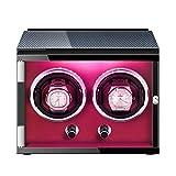 XYSQ Lujo Caja Relojes Automaticos Watch Winder con Motor Silencioso 5 Modos Diferentes Rotación Joyeria Organizadora Y Exhibición para Hombres Y Mujeres Exhibición (Color : D)