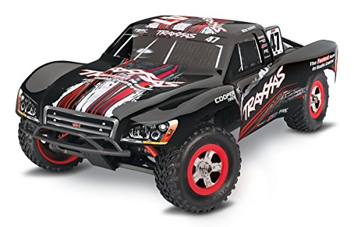 Traxxas Slash 4X4 #47 MIKEJENKINS RTR 1/16 4WD +12V-LADER+AKKU Short-Course-Race-Truck Brushed