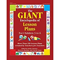 Gryphon House GR-18345-A1 The GIANT Encyclopedia of Lesson Plans for Children 3 to 6 [並行輸入品]