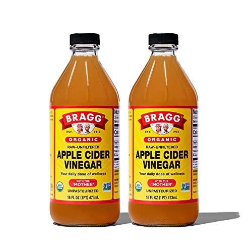 Bragg Organic Apple Cider Vinegar With the Mother– USDA Certified Organic