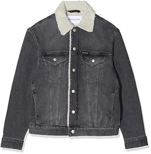 Calvin Klein Jeans Heren Sherpa Foundation Denim Jacket