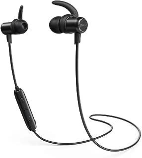 Fone de Ouvido sem Fio Anker SoundBuds Slim, IPX5 Resistente à Água, Microfone Integrado, Preto