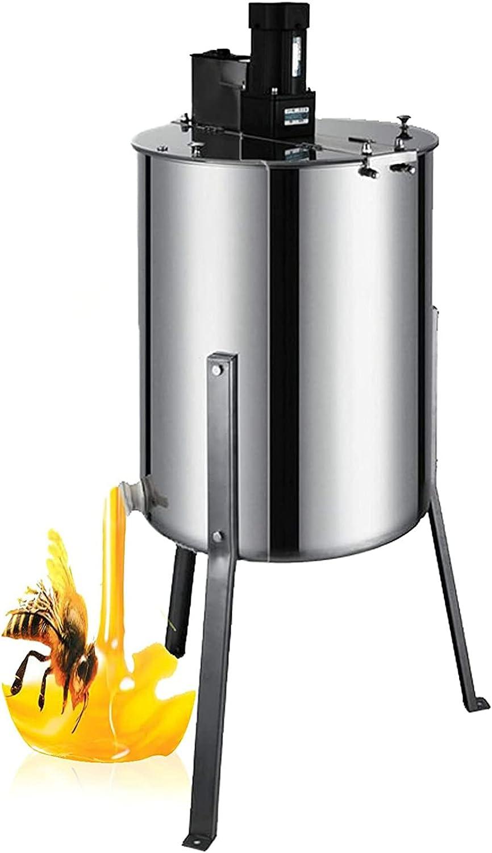 Separador De Miel Eléctrico para 4 Marcos De Acero Inoxidable De Grado Alimenticio, Extractor Giratorio De Panal, Agitación, Apicultura, Equipo De Centrifugación De