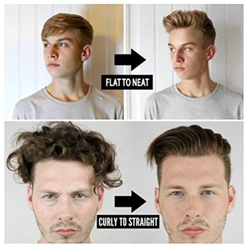 Enderezar el peinado del cabello para hombres, peine de hierro para peinar el cabello, para hombres, adultos(Transl, European standard (100-240v))