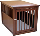Crown Pet Products Pet Crate Wood Dog Crate...