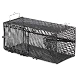 Frabill Rectangular Pinfish Trap | Vinyl Dipped Steel Mesh Trap Specifically Designed for Pinfish | Freshwater and Saltwater Tested