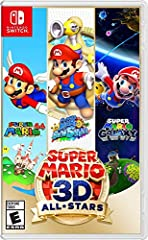 Discover (or rediscover) three of Mario's most memorable adventures all in one package—available on the Nintendo Switch system Take these three adventures on the go with the Nintendo Switch system's handheld or tabletop mode Jump into paintings to co...