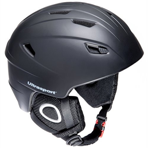 Ultrasport New Race Edition Casque ski ou snowboard mixte adulte Noir Taille XL