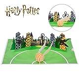 Tarjeta de Harry Potter – Golden Snitch – Regalos de Harry Potter para niños, incluye un sobre...