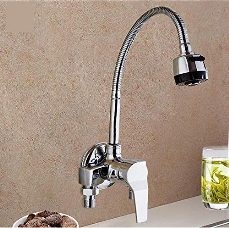 Küchenarmatur Mixer Kalt und Warm Küchenarmatur Einlochmontage Wasserhahn Zinklegierung