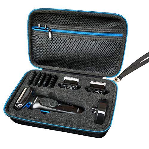 LAVSS Tasche Compatible with Braun Series 5s Braun Series 5 50-B1820s Braun Series 5cs Braun Series 5-50-B4650cs Braun Series 5-50-B1000s Rasierer Hülle Case Etui Tragetasche Braun 5s Taschen