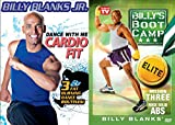 Billy Blanks Bootcamp Two-Workout Bundle - Dance With Me Cardio Fit Fat-Burning Dance Routings & Mission Three Rock Solid Abs