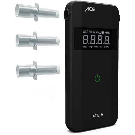 Ace Af 20 Alkoholtester A Polizeigenauer Promilletester Zur Atemalkohol Kontrolle Inkl Batterien Auto
