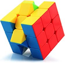Wings of wind - 3x3x3 Speed Cube, Eco-friendly Plastics Magic Cube Stickerless Smooth Puzzle Cube (True Color)