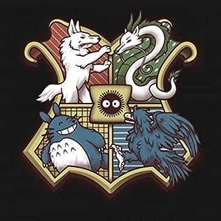 Studio Ghibli Hogwarts Crest, Harry Potter DIY 5D Diamond Painting Kit, Mosaic Diamonds Kit 40cm X 40cm, Full Square/Round Drill