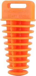 Muffler Exhaust Wash Plug Motorcycle Dirt Bike 2/4 Stroke ATV QUAD Exhaust Silencer Wash Plug Kit (Color : Orange)