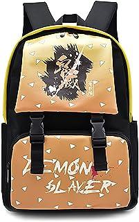 هوج شيطان القاتل تانجيرو نيزوكو حقيبة مدرسية حقيبة ظهر للكمبيوتر المحمول