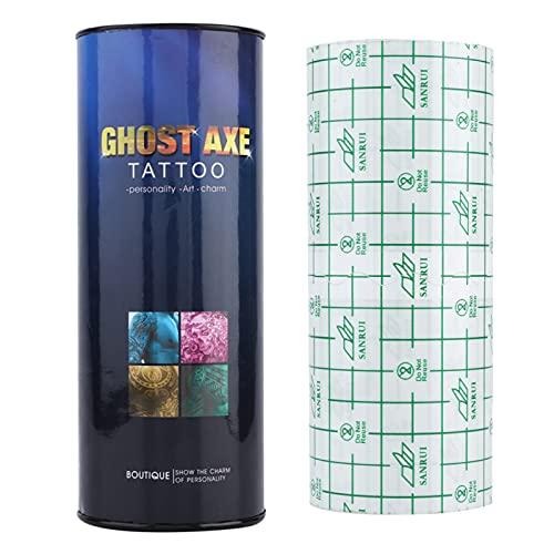 Autoadesivo adesivo riparazione tatuaggio, rotolo benda tatuaggio, impermeabile e traspirante accessori per la riparazione di film tatuaggio forniture (10m)