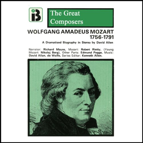 Wolfgang Amadeus Mozart audiobook cover art