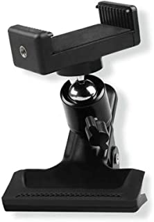 Ball Head Clamping Phone Mount System Guitar Mobile Holder, Scratch-resistant Rubber Pad, Applicable Anywhere, or Use with...
