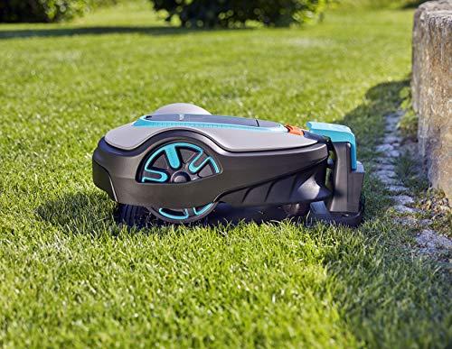 GARDENA Sileno Life 15103-34 Robot cortac/ésped para superficies de  1250/m/² inclinaciones de hasta el 30//% sin hacer ruido funci/ón EasyPassage