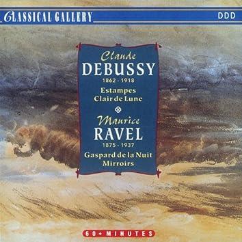 Debussy: Estampes, Suite bergamasque - Ravel: Gaspard de la nuit, Miroirs